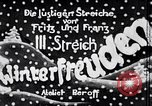 Image of sledding Germany, 1936, second 2 stock footage video 65675074066