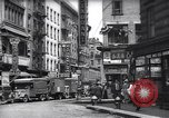 Image of Mott Street and Pell in Chinatown New York City USA, 1939, second 1 stock footage video 65675074109