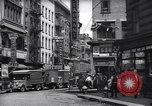 Image of Mott Street and Pell in Chinatown New York City USA, 1939, second 3 stock footage video 65675074109