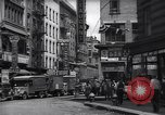 Image of Mott Street and Pell in Chinatown New York City USA, 1939, second 4 stock footage video 65675074109