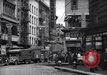 Image of Mott Street and Pell in Chinatown New York City USA, 1939, second 5 stock footage video 65675074109