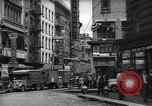 Image of Mott Street and Pell in Chinatown New York City USA, 1939, second 6 stock footage video 65675074109
