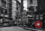 Image of Mott Street and Pell in Chinatown New York City USA, 1939, second 7 stock footage video 65675074109