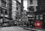 Image of Mott Street and Pell in Chinatown New York City USA, 1939, second 9 stock footage video 65675074109