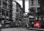 Image of Mott Street and Pell in Chinatown New York City USA, 1939, second 11 stock footage video 65675074109