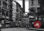 Image of Mott Street and Pell in Chinatown New York City USA, 1939, second 12 stock footage video 65675074109