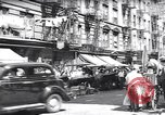 Image of pedestrians New York United States USA, 1939, second 5 stock footage video 65675074111