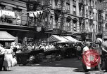 Image of pedestrians New York United States USA, 1939, second 7 stock footage video 65675074111