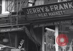 Image of Little Italy New York City USA, 1939, second 8 stock footage video 65675074112