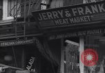 Image of Little Italy New York City USA, 1939, second 11 stock footage video 65675074112