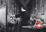 Image of Kindergarten class New York United States USA, 1941, second 6 stock footage video 65675074116
