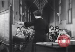 Image of Kindergarten class New York United States USA, 1941, second 8 stock footage video 65675074116