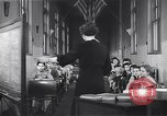 Image of Kindergarten class New York United States USA, 1941, second 10 stock footage video 65675074116