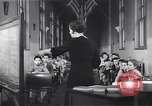 Image of Kindergarten class New York United States USA, 1941, second 12 stock footage video 65675074116