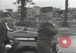 Image of General Omar Bradley Berlin Germany, 1945, second 9 stock footage video 65675074128
