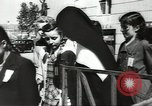 Image of Hungarian people Budapest Hungary, 1948, second 2 stock footage video 65675074140
