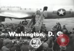 Image of United States Army Air Forces plane Washington DC USA, 1943, second 1 stock footage video 65675074185