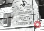 Image of Soviet workers Stalingrad Russia Soviet Union, 1945, second 3 stock footage video 65675074192