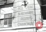 Image of Soviet workers Stalingrad Russia Soviet Union, 1945, second 4 stock footage video 65675074192