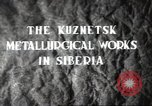 Image of Kuznetsk Metallurgical plant Siberia Soviet Union, 1947, second 2 stock footage video 65675074202