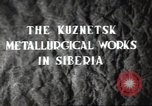 Image of Kuznetsk Metallurgical plant Siberia Soviet Union, 1947, second 3 stock footage video 65675074202