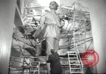 Image of monument to Maxiom Gorky Soviet Union, 1947, second 6 stock footage video 65675074206