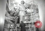 Image of monument to Maxiom Gorky Soviet Union, 1947, second 9 stock footage video 65675074206