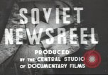 Image of female engineer Moscow Russia Soviet Union, 1947, second 8 stock footage video 65675074207