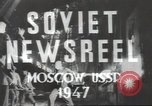 Image of female engineer Moscow Russia Soviet Union, 1947, second 11 stock footage video 65675074207