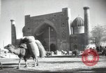 Image of tea house Samarkand Uzbek Soviet Socialist Republic, 1947, second 11 stock footage video 65675074209