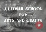 Image of students Riga Latvian Soviet Socialist Republic, 1947, second 5 stock footage video 65675074211
