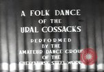 Image of dancers Chelyabinsk Soviet Union, 1947, second 4 stock footage video 65675074212