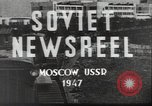Image of giant steel mill Zaporozhye Ukrainian Soviet Socialist Republic, 1947, second 12 stock footage video 65675074213