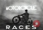 Image of motorcycle race Moscow Russia Soviet Union, 1947, second 3 stock footage video 65675074216