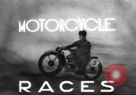 Image of motorcycle race Moscow Russia Soviet Union, 1947, second 4 stock footage video 65675074216
