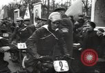 Image of motorcycle race Moscow Russia Soviet Union, 1947, second 8 stock footage video 65675074216