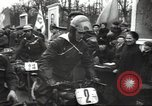 Image of motorcycle race Moscow Russia Soviet Union, 1947, second 9 stock footage video 65675074216
