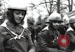 Image of motorcycle race Moscow Russia Soviet Union, 1947, second 12 stock footage video 65675074216