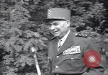 Image of Alphonse Juin European Theater, 1952, second 7 stock footage video 65675074237