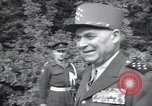 Image of Alphonse Juin European Theater, 1952, second 8 stock footage video 65675074237
