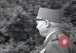 Image of Alphonse Juin European Theater, 1952, second 9 stock footage video 65675074237
