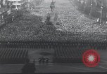 Image of Czech crowd Prague Czechoslovakia, 1953, second 9 stock footage video 65675074241