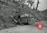Image of wrecked German equipment Esperia Italy, 1944, second 8 stock footage video 65675074260