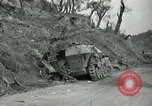 Image of wrecked German equipment Esperia Italy, 1944, second 9 stock footage video 65675074260