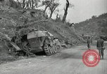 Image of wrecked German equipment Esperia Italy, 1944, second 11 stock footage video 65675074260