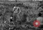Image of wounded 3rd Division soldier Cisternia Italy, 1944, second 7 stock footage video 65675074263