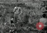 Image of wounded 3rd Division soldier Cisternia Italy, 1944, second 9 stock footage video 65675074263