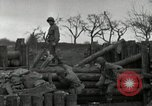 Image of Advancing U.S. forces destroy enemy roadblock Oberleuken Germany, 1945, second 11 stock footage video 65675074268