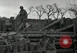 Image of Advancing U.S. forces destroy enemy roadblock Oberleuken Germany, 1945, second 14 stock footage video 65675074268