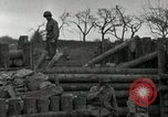 Image of Advancing U.S. forces destroy enemy roadblock Oberleuken Germany, 1945, second 15 stock footage video 65675074268